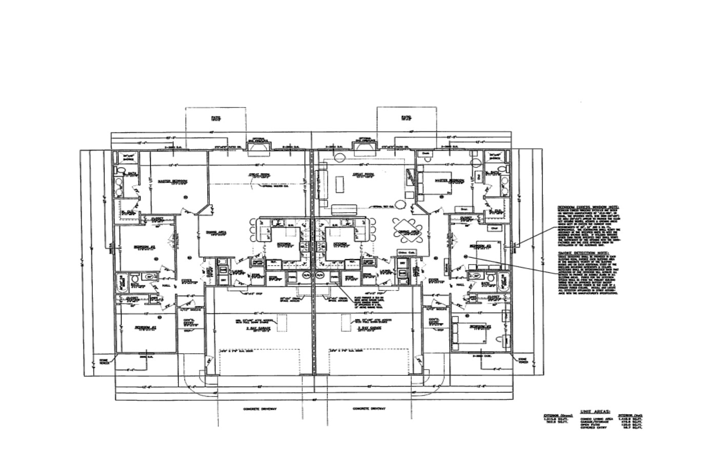 Floor Plan for Units Plan A