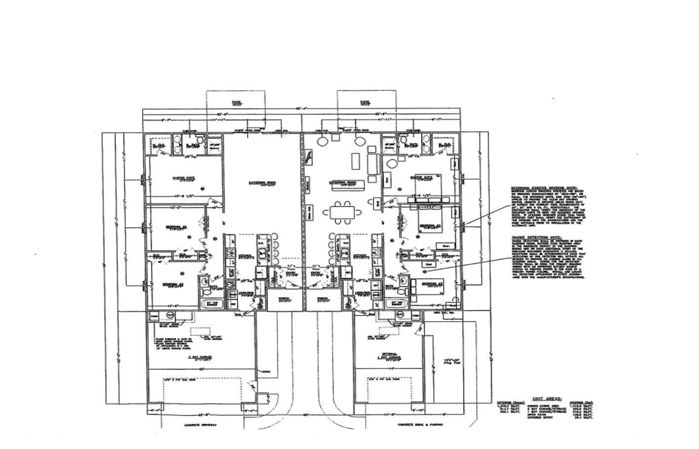 Floor Plan for Units plan B